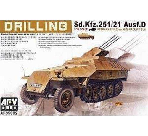 AFV CLUB (AFV) 35082 1/35 Sd Kfz 251/21 Ausfd