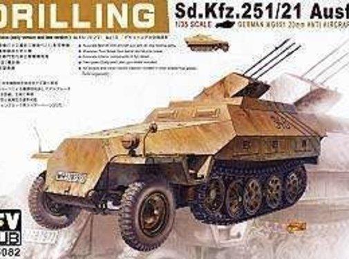 AFV CLUB (AFV) 1/35 Sd Kfz 251/21 Ausfd