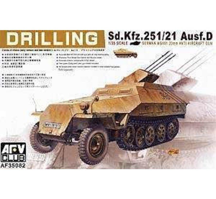35082 1/35 Sd Kfz 251/21 Ausfd