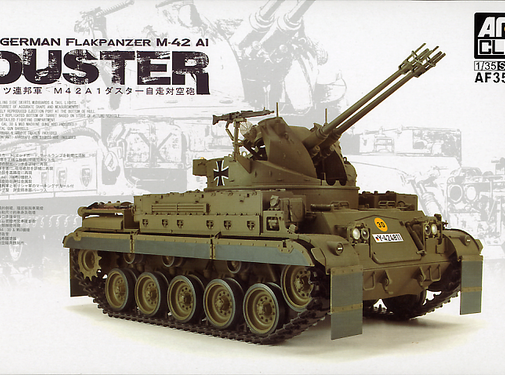 AFV CLUB (AFV) (SO) 35S66 FLAKPANZER M42 DUSTER 35