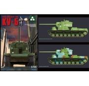 TAKOM INT (TAK) 1:35 Russian KV-5 Heavy Tank WWII