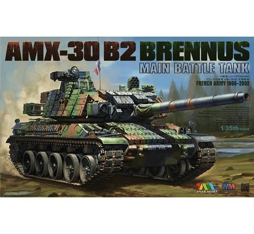 TMK - TIGER MODEL LTD 35 4604 1/35 AMX-30 B2 Brennus French Army tank destroyer 1966-2002