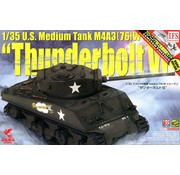 "ASUKA MODELS U.S. 1:35 Sherman M4A3(76) ""Thunderbolt VI"" Commanded by Col. Creighton Abrams. Docking 7"