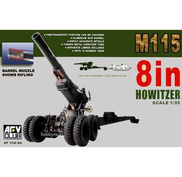 AFV CLUB (AFV) 1:35 M115 8 In Howitzer AFV Club 35S06