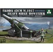 TAKOM INT (TAK) 1:35 German Skoda 42cm Howitzer