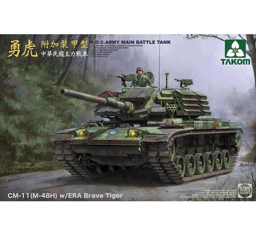 TAKOM INT (TAK) 1/35 R.O.C. Army MBT CM-11 (M-48H) w/ERA Brave Tiger - TAK2091