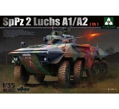 "TAKOM INT (TAK) 2017 German SpPz 2 ""Luchs"" A1A2 Armored Car 1/35"