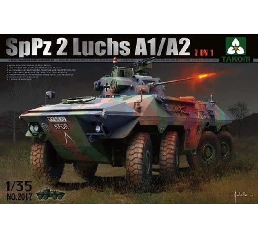 "2017 German SpPz 2 ""Luchs"" A1A2 Armored Car 1/35"