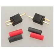 W.S. Deans (WSD) Micro Plug 2B  Black Polarized