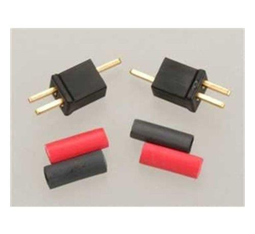 W.S. Deans (WSD) 1221 Micro Plug 2B  Black Polarized