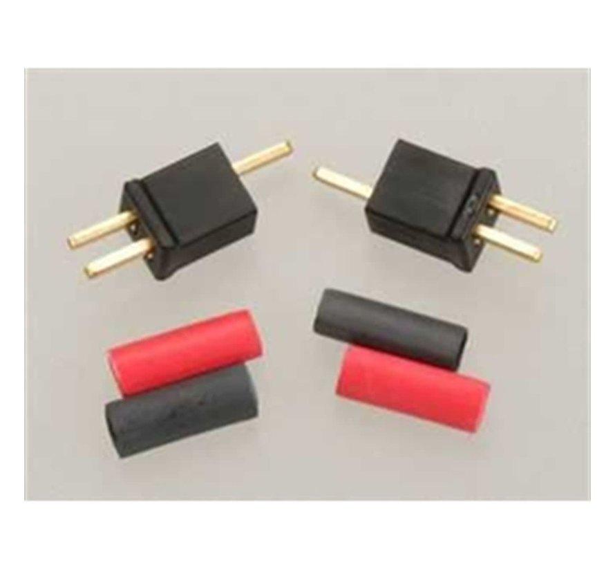 1221 Micro Plug 2B  Black Polarized