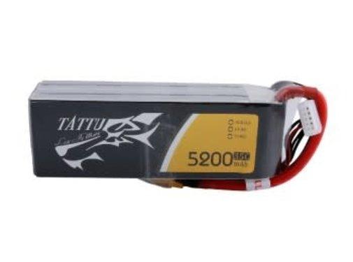 Tattu Tattu 5200mAh 14.8V 35C 4S1P Lipo Battery Pack with XT60 Plug