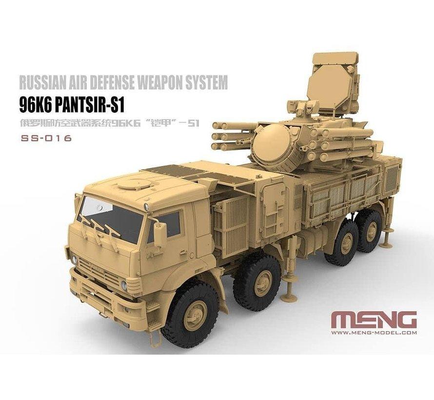 SS016 Russian  96K6 Pantsir-S1 Air Defense Weapon System 1:35