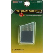 Master Tools 9955 Twist Drilling Auger Bit Set #2 1.0mm-1.7mm (8)