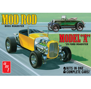 AMT Models (AMT) Ford 1929 Model A Roadster (OAS) Mod Rod 1/25