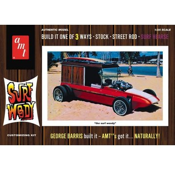 AMT Models (AMT) George Barris Surf Woody 1:25