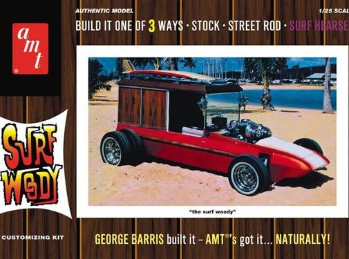AMT Models (AMT) George Barris Surf Woody 1:25