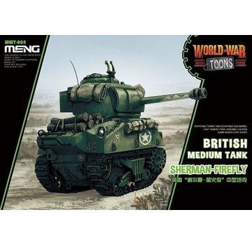 MENG MODEL (MGK) Meng Misc British Tank Sherman-Firefly World War Toons