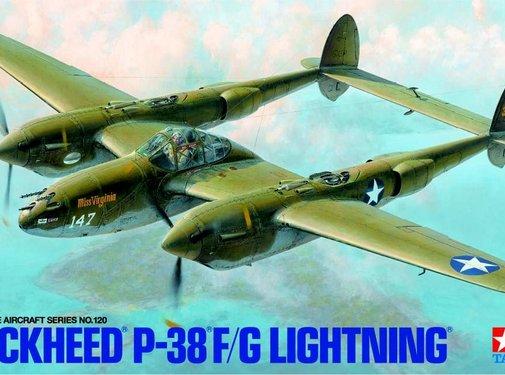 Tamiya (TAM) 865- Lockheed P38 F/G Lightning 1/48