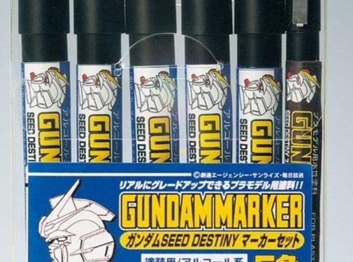 Mr. Hobby GSI - GNZ Destiny Seed Marker Set 6pcs #1