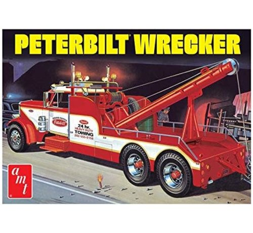 AMT Models (AMT) 1133 Peterbilt 359 Wrecker 1:25