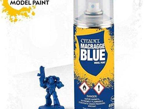Games Workshop -GW MACRAGGE BLUE SPRAY