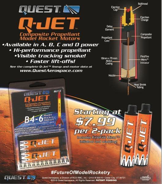 6109 A3-6 (2-pack) Model Rocket
