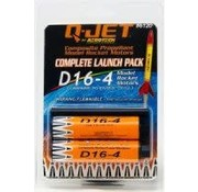 QUS - Quest QUS6120 D16-4 (2-pack) Model Rocket