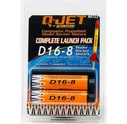 QUS - Quest D16-8 (2-pack) Model Rocket