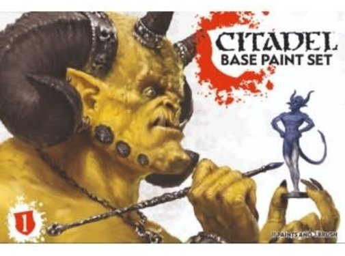 Games Workshop -GW CITADEL BASE PAINT SET