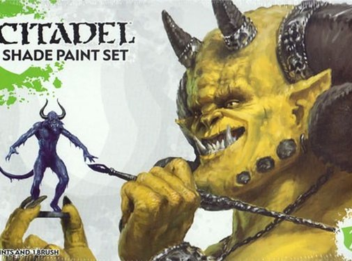 Games Workshop -GW CITADEL SHADE PAINT SET
