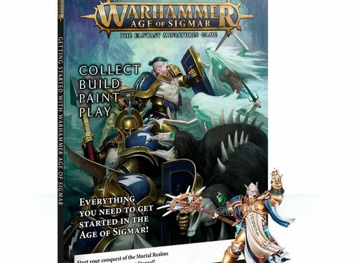 Games Workshop -GW GETTING STARTED WITH AGE OF SIGMAR (ENG)