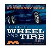 MOE - Moebius 1/25 Semi Wheels/Tires (10 pk)