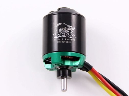 COB Cobra Motors Cobra C-2221/10 Brushless Motor, Kv=1500