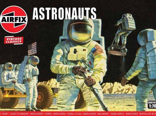 Airfix (ARX) Astronauts NASA Apollo Astronauts, equipment and Moon Buggy