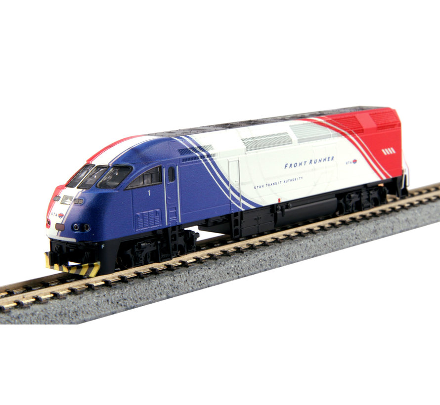 "176-6126-KB6 N scale MPI MP36PH Kobo Custom Paint - Utah Transit Authority ""FrontRunner"" #1"