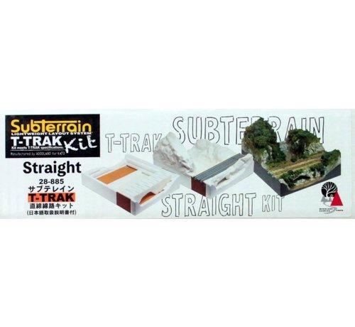 Kato USA (KAT) 381- K28885 SubTerrain T-Trak Kit Straight