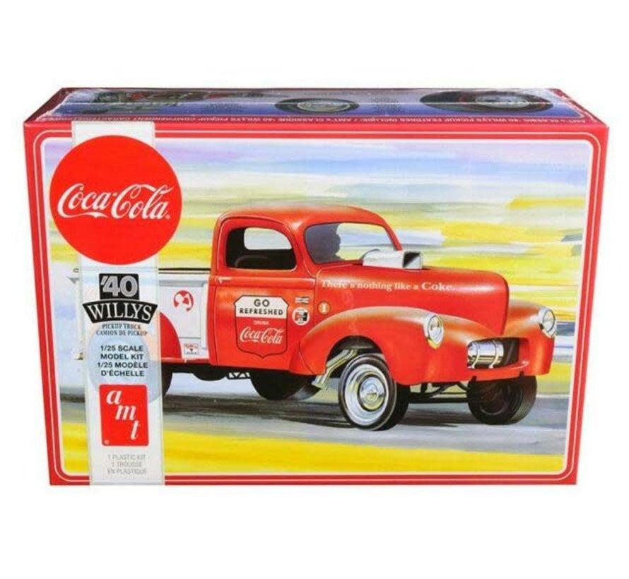 1145M Willys 1940 Pickup Gasser, Coca Cola 2T 1/25