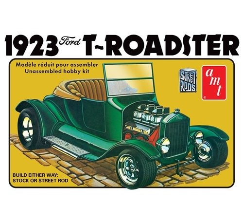 AMT Models (AMT) 1130 Ford 1923 Model T Roadster Street Rod Series 1/25 scale