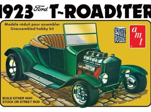 AMT Models (AMT) Ford 1923 Model T Roadster Street Rod Series 1/25 scale