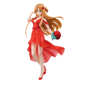 "BANDAI MODEL KITS Asuna Party Dress ""Sword Art Online"", Bandai Ichiban Figure"