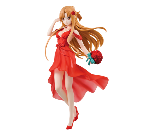 "BANDAI MODEL KITS 58936 Asuna Party Dress ""Sword Art Online"", Bandai Ichiban Figure"