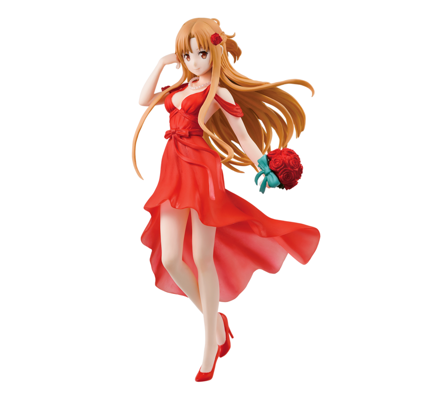 "58936 Asuna Party Dress ""Sword Art Online"", Bandai Ichiban Figure"