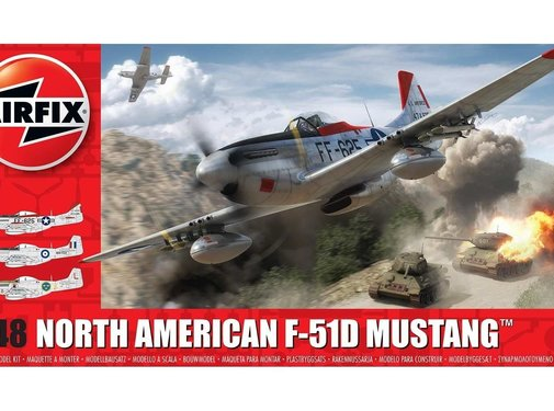 Airfix (ARX) F-51D Mustang North American1/48
