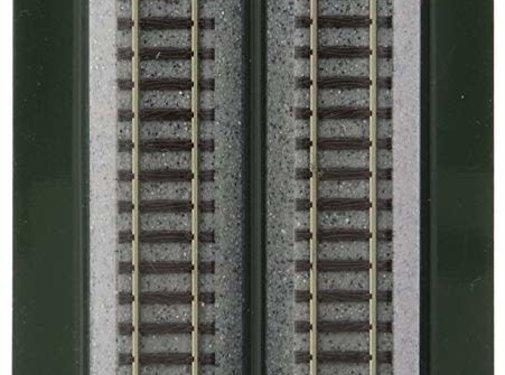 "Kato USA (KAT) 381- N scale Track 186mm 7-5/16"" Straight (4)"