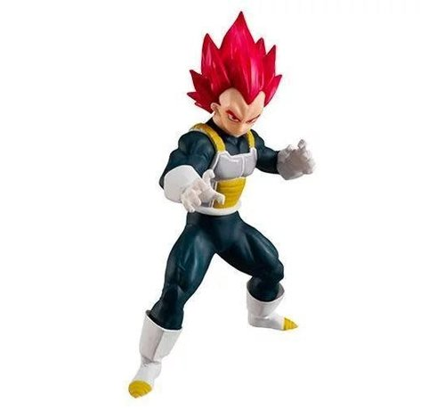 "Bandai Shokugan 33978 Super Saiyan God Vegeta  ""Dragon Ball"", Bandai Styling"