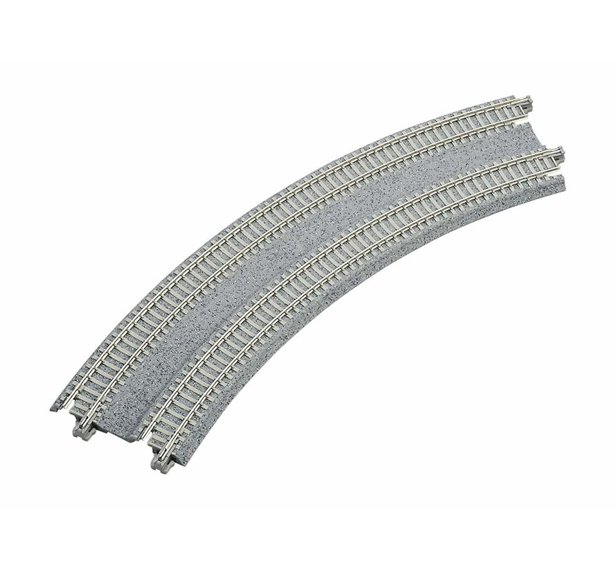 """20-183 N 11""""/12.4"""" 45-Degree Double Track Curve (2)"""