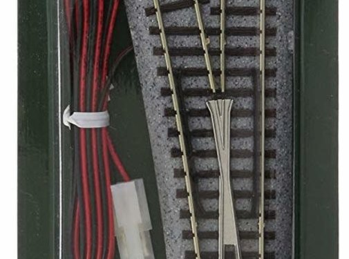 Kato USA (KAT) 381- 20-202 N scale Track #6 Remote LH Turnout / Switch