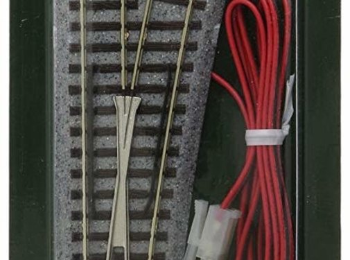 Kato USA (KAT) 381- 20-203 N scale Track #6 Remote RH Turnout / Switch