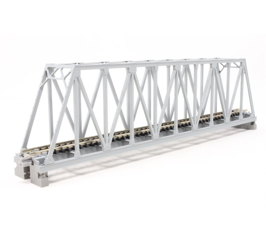 "20-432 N 248mm 9-3/4"" Truss Bridge, Gray"